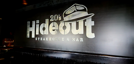 20s Hideout Steakhouse Live Piano Great Food